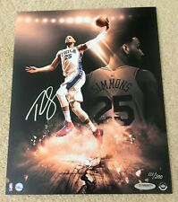 BEN SIMMONS Signed Ready For Impact 8x10 Photo Upper Deck Employee UDA /200 Auto