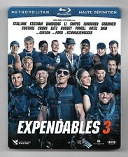 COFFRET STEELBOOK BLU-RAY / EXPENDABLES 3 - STALLONE , STATHAM / 2 DISC