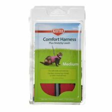 "Lm Kaytee Comfort Harness with Safety Leash Medium (7""-9"" Neck & 9""-11"" Waist)"