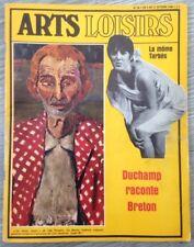 Revue Arts Loisirs N°54 1966 Terzieff/Bardot/Duchamp/Breton/La MômeTarbes/Musées
