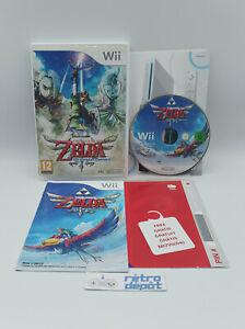 The Legend of Zelda Skyward Sword + Carte VIP non grattée / Nintendo Wii PAL FR