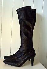 Mid Heel (1.5-3 in.) Animal Print Slim Boots for Women