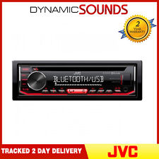 JVC KD-R794BT CD Receiver with Front AUX/USB Input MP3 Bluetooth Car Stereo