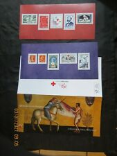 bloc timbre souvenir philatélique 2014 150 ans de la Croix Rouge