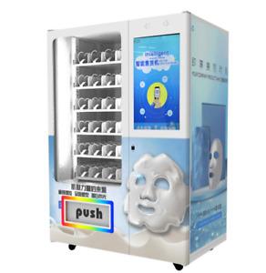 """32 """" Touchscreen Automatisch Maske Spender Gesicht Cover Verkaufsautomat Siehe"""