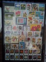 Blumen Flores Flowers Bund BRD Sellos Stamps Briefmarken Timbres