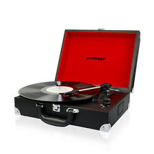 Refurbished mbeat Retro Briefcase Style USB 60's Vinyl Record Player