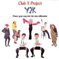 CLUB X PROJECT - Y2K - 11 TRACK MUSIC CD - LIKE NEW - F761