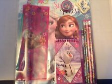 Disney Frozen Elsa and Anna 11 Piece School Supply Stationary Set