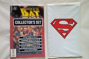 SHADOW of THE BAT #1 + The ADVENTURES of SUPERMAN #500 comic books(DC,1990s)