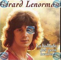 CD GERARD LENORMAN la ballade des gens heureux