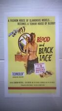Blood and Black Lace 11x17 Poster. Good Shape. Make Offer.