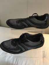 Hugo Boss Grey Black Shoes Size 9.5 (44)