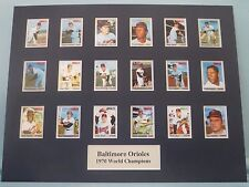 Baltimore Orioles -  1970 World Champions