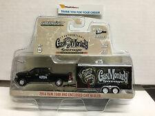 Greenlight Hitch & Tow 3 * GAS MONKEY 2014 Ram 1500 & Enclosed Car Hauler