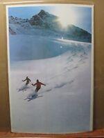 Vintage 1972 Quiet Slopes  skiing Ski poster Inv#G2701