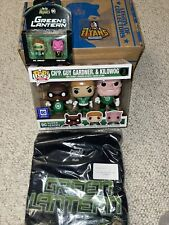 Dc Legion of Collectors Green lantern 3 pack Justice League Full Box Shirt! Pin