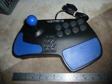 SONY PLAYSTATION 1 PS1 2 PS2 ARCADE FIGHT JOYSTICK CONTROLLER JOY GAME STICK Blk