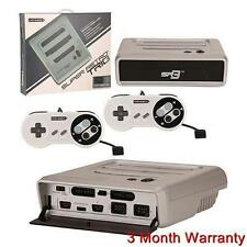 Super RetroTRIO Console NES/SNES/Genesis 3 in 1 System Silver/Black Retro Trio