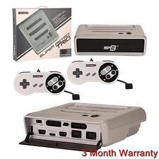 Super RetroTRIO Console NES/SNES/Genesis 3 in 1 System Silver/Black Retro Trio