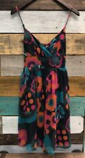 FIRE LOS ANGELES Dress Multi-Color FLORAL Spaghetti Straps Size Medium LINED
