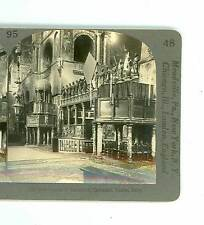 B2589 Keystone 2059 Interior Of San Marco Cathedral Venice Italy D