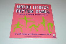 Motor Fitness Rhythm Games~Booklet~Jack Capon~Rosemary Hallum~FAST SHIPPING