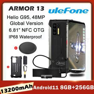Ulefone Armor 13 Infrared Distance Measure 8GB+256GB IP68 Rugged Phone 13200mAh