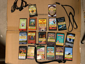 Lot of 19 Playaway AudioBooks