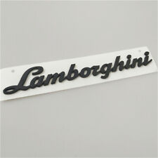 Lamborghini Gallardo Huracan Rear Script Emblem Matte Black  NEW  (1PC)