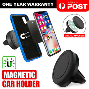 2X Universal Magnetic Car Phone Holder Mount Stand iPhone 11 Pro Max Samsung S10