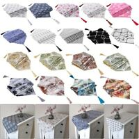 Linen Cotton Table Runner Tablecloth Party Long Table Cover Home Party Decor Lot