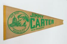 Vintage 1977 Jimmy Carter 39th President Inauguration Washington DC Pennant