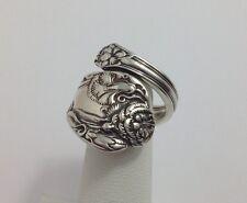 STERLING, International, Spoon Ring, Jewelry, Carnation (bin #133)