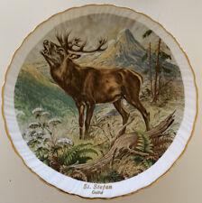 St. Stefan Gailtal Elk Collector Souvenir Plate - Gan Karnten Osterreich- 9-3/4�