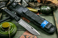 New Russian Army Tactical Knife Feldjaeger Serrated AUS-8 Steel Kizlyar Supreme