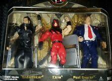 WWE Classic Superstars Undertaker, Kane, And Paul Bearer 3 Pack Jakks Pacific.