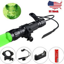 5000Lm LED Tactical Flashlight Torch Mount Light Gun With Pressure Switch NEW