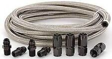 Automatic Transmission Cooler Line Kit -6AN Steel Braided Hose Ford C4 C6