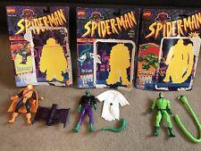 "hobgoblin Lizard & Scorpion Toybiz 5"" Figures Perfect Complete Spiderman Marvel"