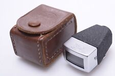 ZEISS 75MM VIEW FINDER *VERY NICE* '423' FOR BIOTAR, PANTAR LENS W/ LEATHER CASE