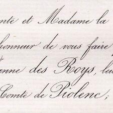 Marie Jeanne Des Roys 1868 Ludovic Henri De Piolenc