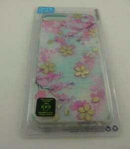 fits iPhone 6 plus, 7 & 8 + plus phone case cherry blossom design flowers