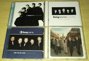 4 x CD Albums From Boyzone. All Listed. All Cases & Artwork Included. Good Mix