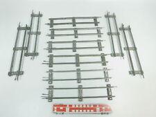bk333-1 #10x MÄRKLIN escala 0 Vía / piezas de Vía Recto (26 cm) PARA