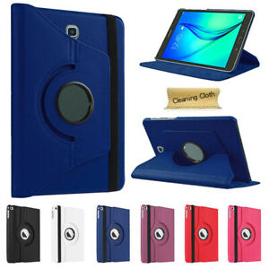 """Rotating Leather Case Cover For Samsung Galaxy Tab A E 7.0"""" 8.0"""" 9.6 9.7 10.1"""