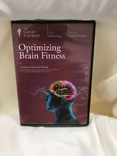 The Great Courses - Optimizing Brain Fitness- Perfect Condition!!!!