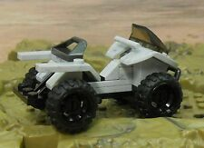 ^ HALO Mega Bloks MONGOOSE SNOW CAMO ATV UNSC from High Base