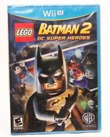LEGO Batman 2: DC Super Heroes Wii-U New Factory Cellophane torn, SEE PICS