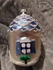 "1994 Patricia Breen #9403 Winter Acorn House Christmas Ornament 4.5"""